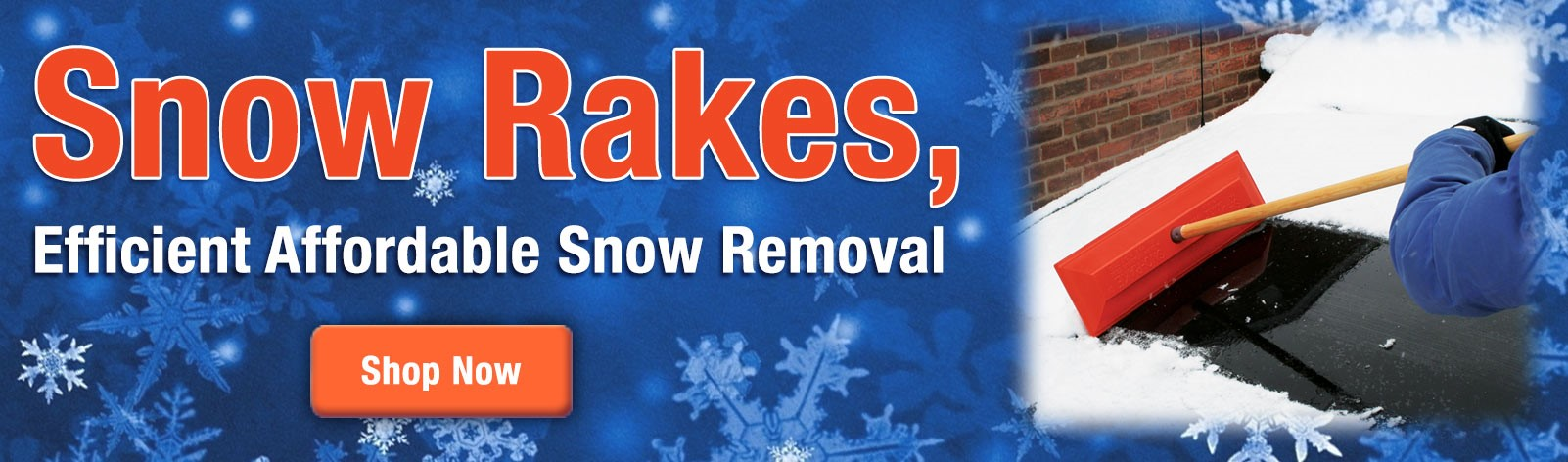 Snow Rakes - In stock & ready to ship today!