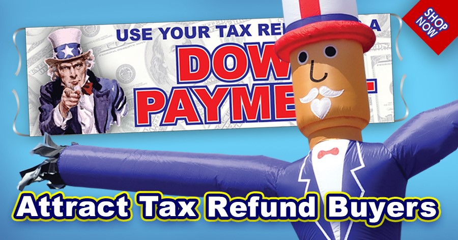 Attract Tax Refund Buyers!.