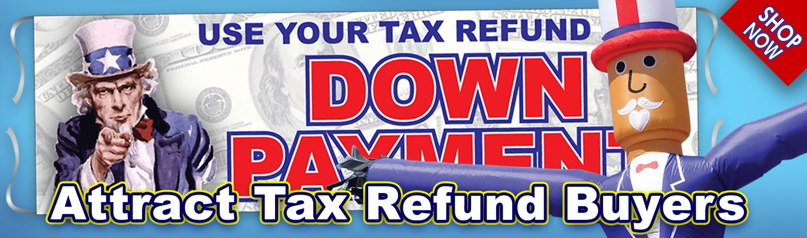 Attract Tax Refund Buyers!