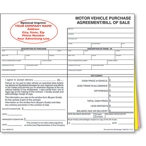 100+ Ideas Vehicle Purchase Agreement On Habat.Us
