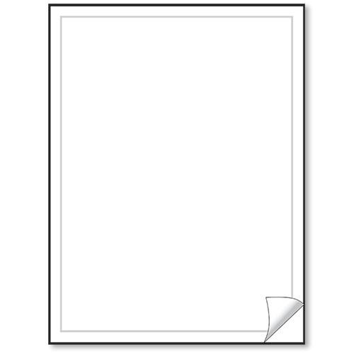 Blank Vehicle Window Stickers