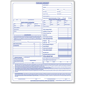 Purchase Agreements Pad