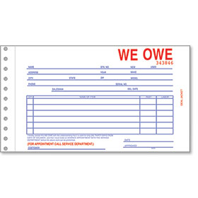R&R Compatible We Owe Forms