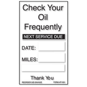 Generic Oil Change Reminders
