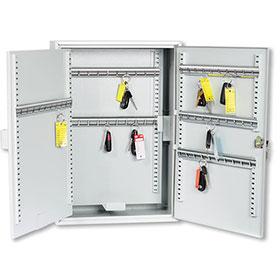 100 Hook Adjustable Key Cabinet