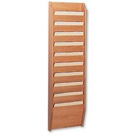 Oak Repair Order Rack