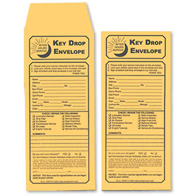 Slim Drop Envelopes