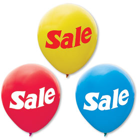 17 Inch Sale Balloons