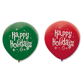 16 Inch Holiday Balloons