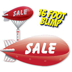 16 Foot Reusable Blimp - SALE