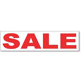 Sale Rider Sign