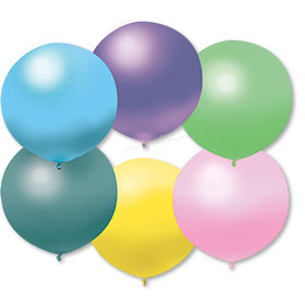 17 Inch Fun Assorted Premium Outdoor Balloons