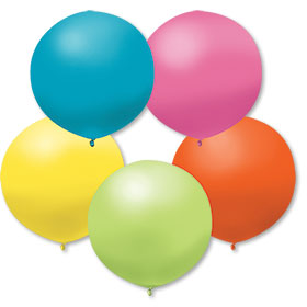 17 Inch Island Assorted Premium Outdoor Balloons