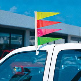 Multi Triangle Clip-On Flag Kit