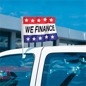We Finance - Economy Clip-On Flag Kit w/Stars
