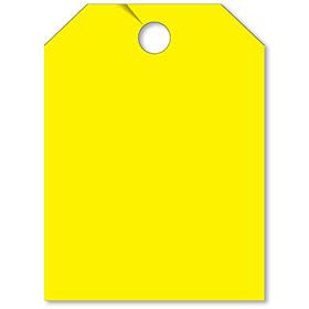 Blank Yellow Mirror Tag