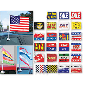 Clip On Flags