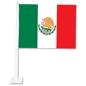 Mexico Flag - Clip On Flag