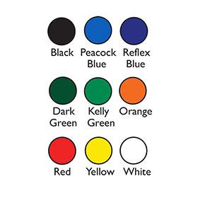 License Plate Print Colors