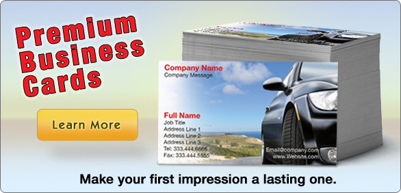 Premium Business Cards - Make your first impression a lasting one.